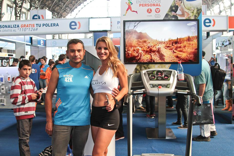 Entel / Stand Expo Running 2014