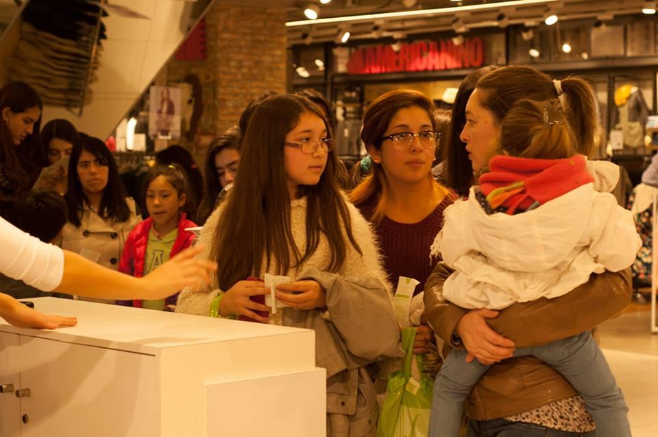 Falabella / Inauguración Tiendas con Augusto Schuster