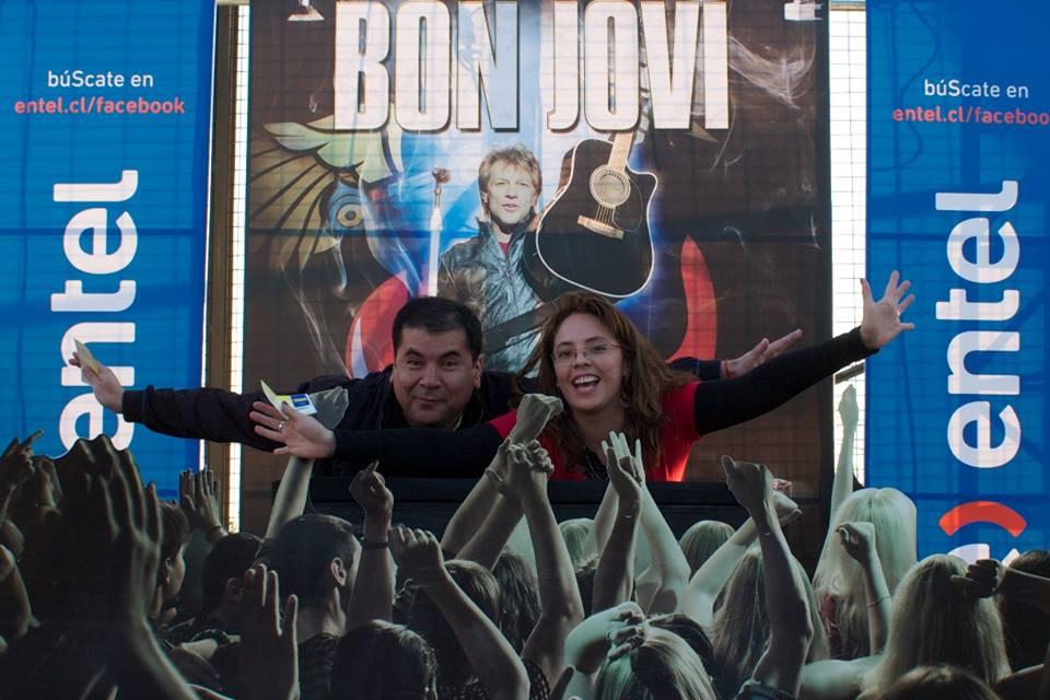 Entel / Activación Concierto Bon Jovi