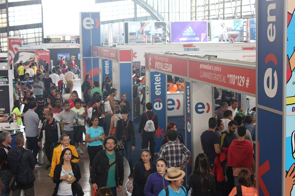 Entel / Stand Expo Running 2016