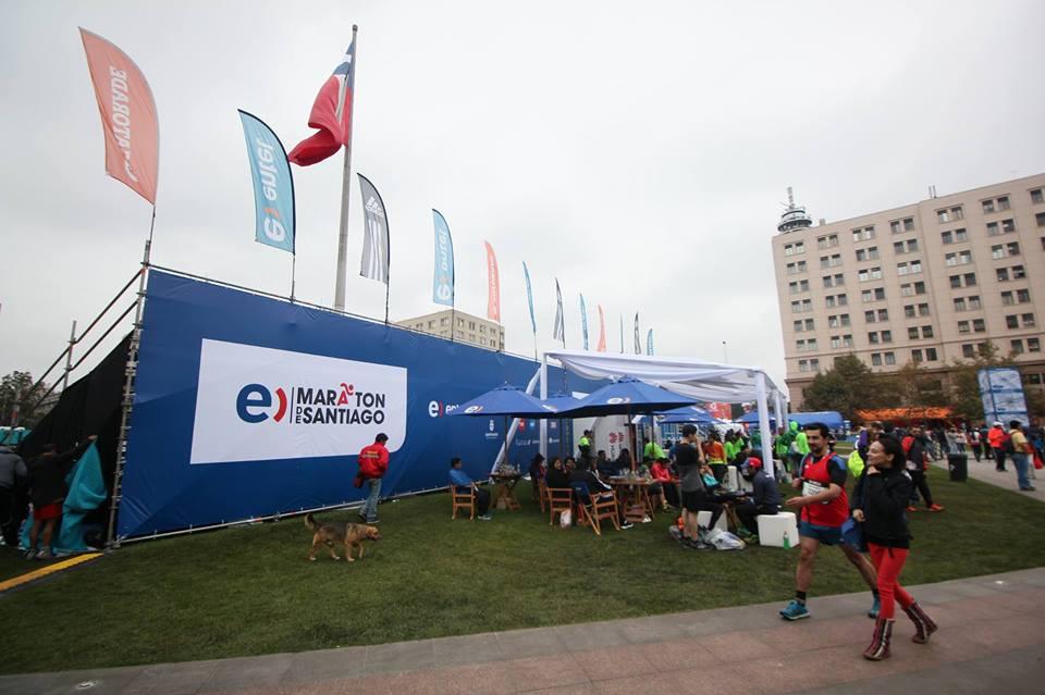 Entel / Zona De Sombra Maratón Santiago 2016